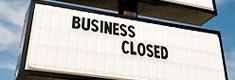 closing business